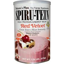 Natures Plus: Red Velvet Spirutein 1.26lb