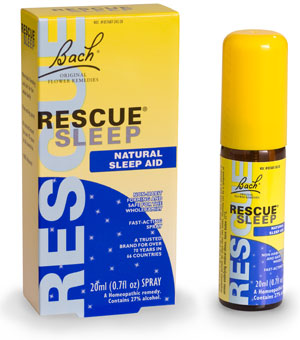 BACH FLOWER ESSENCES: Rescue Sleep Liquid Melts 28 caps