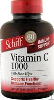 SCHIFF/BIO FOODS: C-1000 With Rose Hips 100 tabs