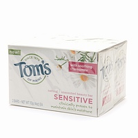 TOMS OF MAINE: Sensitive Moist Bar Soap Twin Pack 4oz - 4oz