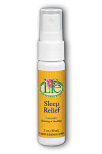 Living Flower Essences: Sleep Relief Spray 1 oz Spy Lavender
