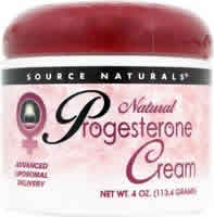 SOURCE NATURALS: PROGESTERONE CREAM 2 OZ CA