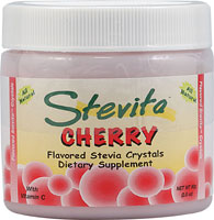 STEVITA: CONCENTRATED POWDER CHERRY JAR 2.8OZ