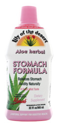 Aloe Vera Gel Stomach Formula, 32 oz
