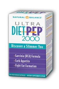 Natural Balance: Ultra Diet Pep 2000 60ct