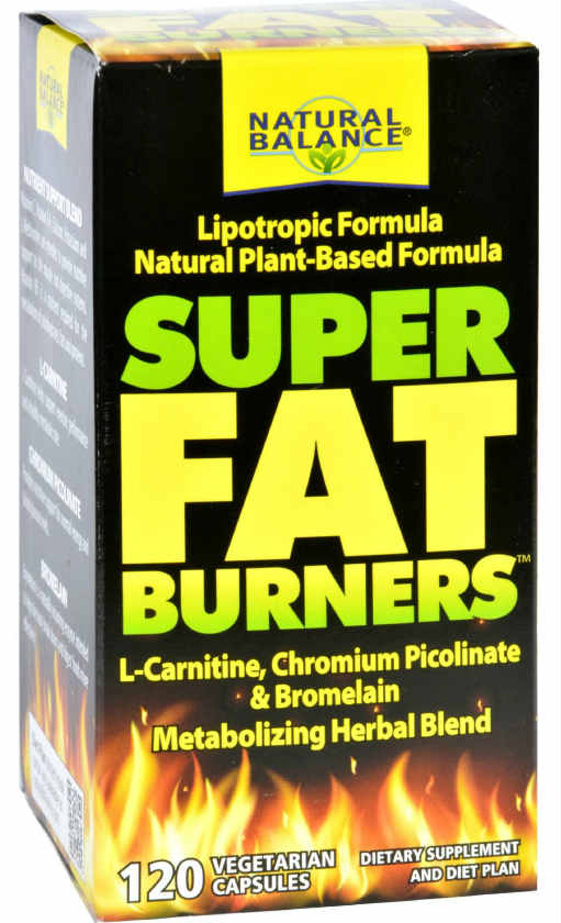 Natural Balance: Super Fat Burners (Lipotropic Formula) 120ct