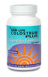 Colostrum Plus With BIO-Lipid Candida Formula 120 caps from SYMBIOTICS