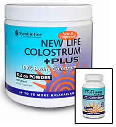SYMBIOTICS: Colostrum Plus With BIO-Lipid Powder 21 oz