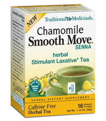 TRADITIONAL MED: SMOOTH MOVE CHAMOMILE TEA 16BAGS