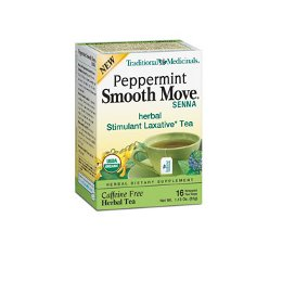 TRADITIONAL MED: SMOOTH MOVE PEPPERMINT TEA 16BAGS