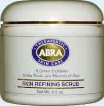 ABRA THERAPEUTICS: Skin Refining Scrub 4.5 oz