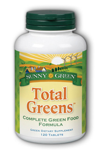 Sunny Green: Total Greens 120ct