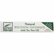 Tea tree therapy inc: Natural whitening toothpaste ( antiseptic ) 3 oz