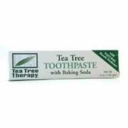 TEA TREE THERAPY INC: Natural Toothpaste ( Antiseptic ) 5 oz