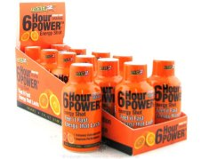 NVE PHARMACEUTICALS: 6 HOUR POWER SHOT ORANGE 12 CS