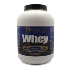 Ultimate nutrition: Whey supreme banana 5LB