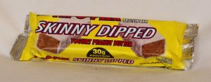 Chef jay's food products: Skinny dipped bar yogurt peanut butter 12 BOX