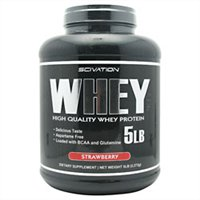 SCIVATION: SCIVATION WHEY STRAWBERRY 5LB 1