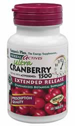 Natures Plus: Ultra Cranberry 1500mg 30ct