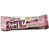Natures Plus: Chocolate Berry Ultra Energy Acai Bar 12 Bars