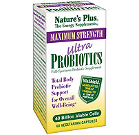 Natures plus: Ultra probiotics 40 billion 60 ct