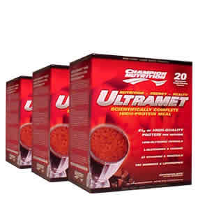 CHAMPION NUTRITION: Ultramet Packets Chocolate 76 gm 60 pkts