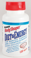 Weider health and fitness: Diet and energy 120 tablets