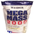 Weider health and fitness: Mega Mass 2000 Vanilla 12.1 lbs