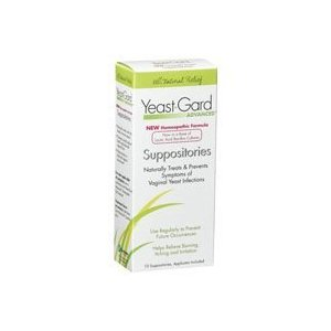 WOMEN'S HEALTH FORMULAS/LAKE CONSUMER PRODUCTS: Yeast-Gard Vaginal Suppositories Bonus Size 10 suppositories