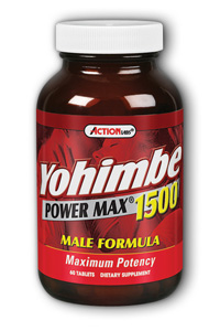 Action Labs: Yohimbe PowerMax 1500 60 ct