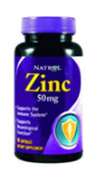 NATROL: ZINC 50MG 90CAPS