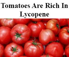 tomatoes and Lycopene